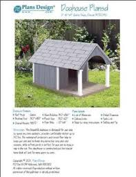 Buy Porch Barn Roof Style Dog House Project Plans  Pet Size up to    Small Dog House Project Plans  Gable Roof Style   Porch  Pet Size up to lbs Design   G