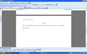how to make a template for apa format in word
