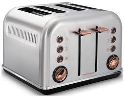 <b>Тостер Morphy Richards 4</b> slices Accents Rose Gold and Brushed ...