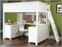 Full Size Bunk Bed Over Desk   Home Design Ideas