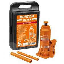 <b>Домкрат бутылочный в кейсе</b> Кратон HBJ-5.0-K ...
