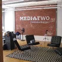 raleigh nc media two interactive advertising agency photo of faux brick painting advertising agency office advertising