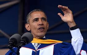 obama us in better place than when he graduated college whp president barack obama gives his commencement address to the 2016 graduating class of howard university in