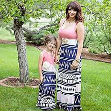 Bharat Ventures Mama Baby <b>Mother Daughter Dresses Mum and</b> ...