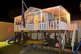 Cubbyhouse kits   Diy Handyman Cubby house   Cubbie house    Queenslander Cubbyhouse   quot