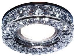 <b>Встраиваемый светильник Ambrella light</b> S241 BK, хром ...