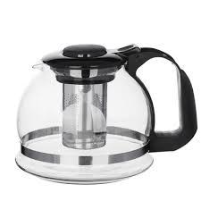<b>Чайник заварочный</b> 1,5 л, <b>стеклянный</b> в магазинах Галамарт