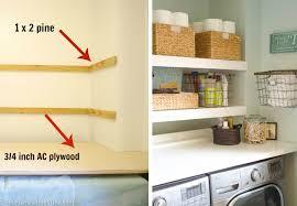 diy floating shelves double build floating shelves