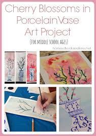 <b>Cherry</b> Blossoms in Porcelain <b>Vase Art</b> Project - Asian Theme Art ...