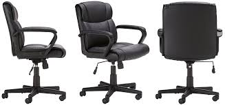 amazonbasics mid back office chair amazon chairs office