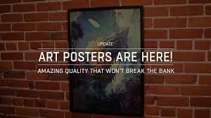 <b>Art Posters</b> Released & New ArtStation <b>Prints</b> Facility! - ArtStation ...