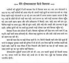 summer holidays essay for kids my summer vacation essay for kids summer holidays essay in marathi   essay topics essays on