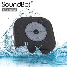 shower radio review guide x: amazoncom soundbotar sbfm fm radio water resistant bluetooth wireless shower speaker hands free portable speakerphone w smart one touch auto scan