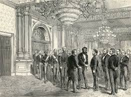 ulysses s grant king kalākaua of hawaii meets president grant at the white house in 1874