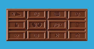 Hershey's <b>New</b> Chocolate Bar <b>Design</b> Features <b>Popular</b> Emojis - Eater