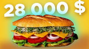 <b>БУТЕРБРОД</b> ЗА 28 000 $ - Самый дорогой в мире <b>бутерброд</b> ...