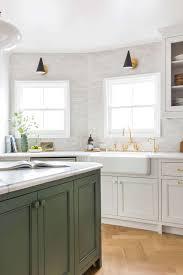 stole tile backsplash stone copy emily henderson frigidaire kitchen reveal waverly english modern edite