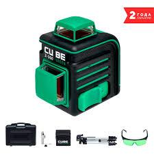 Купить Лазерный <b>нивелир ADA instruments CUBE</b> 2-360 Green ...