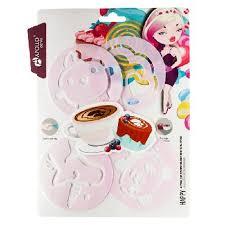 Набор <b>форм для декорирования</b> кофе и выпечки <b>APOLLO Genio</b> ...
