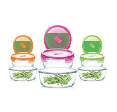 <b>Luminarc Purebox Active Neon</b> Round Kitchen Set – Arc-MEAI