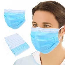 Fast <b>DHL 50pcs</b> Non Woven <b>Disposable</b> Face <b>Mask</b> 3 Layer Dental ...