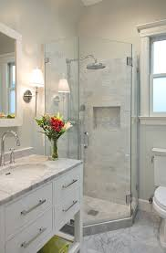 bathroom ideas corner shower design: transitional decorating style stunning modern showers design ideas in bathroom transitional design