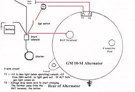 wire alternator wiring diagram image wiring one wire alternator wiring diagram one auto wiring diagram schematic on 3 wire alternator wiring diagram