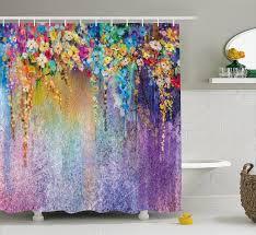 Home & Garden <b>Shower Curtains Waterproof Bathroom</b> Decor ...