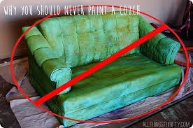 why you should never paint a couch can you paint leather furniture