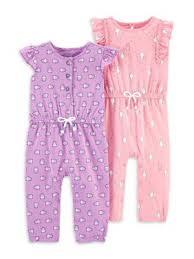<b>Baby Girls Rompers</b> & One-pieces - Walmart.com