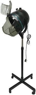 Portable <b>Salon Hair Hood Dryer</b> Stand Up <b>Bonnet Professional</b> ...