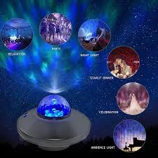 <b>Led</b> Star Projector Night Light <b>Galaxy Starry Night</b> Lamp Ocean ...