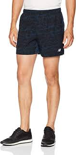 New Balance Mens <b>Printed Impact</b> 5 Inch <b>Short</b>: Amazon.co.uk ...