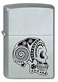 <b>ZIPPO ЗАЖИГАЛКА 205 Tattoo Skull</b>