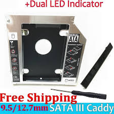 Купить Magnalium SATA 3.0 2nd HDD Caddy 9.5mm SSD Case ...