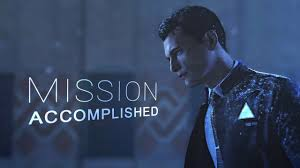 mission accomplished • <b>connor RK800</b> - YouTube