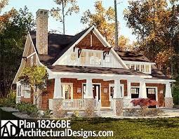 ideas about Bungalow House Plans on Pinterest   House plans    Plan BE  Storybook Bungalow With Screened Porch