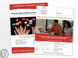 brochure and flyer design portfolio timothy youngs sonoma west medical center flyer design