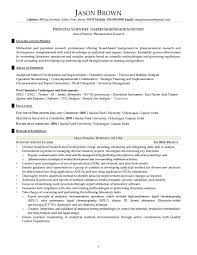 science and research resume examples principal senior scientist principal senior scientist resume example