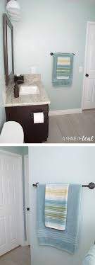 bathroom refresh: as you can see it was rather boring and i had too much bronze going on here are some tips on how to give your bathroom a quick amp easy rustic style refresh