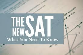 Risultati immagini per New SAT Test
