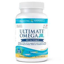 Nordic Naturals - <b>Ultimate Omega Junior Strawberry</b> Fish Oil - 90 ...