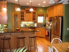 wall color ideas oak:  ideas about honey oak cabinets on pinterest oak kitchens cabinets and granite