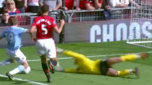 Most Dramatic Manchester Derby Man UTD v Man City 4-3 English ...