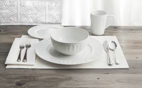 casual dining dishes alternate images waverly radiant round  piece dinnerware set   gb by w