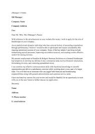 sample accounting cover letter my document blog cover letter image inside sample accounting cover letter