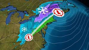 <b>Winter Storm</b> Bringing <b>Snow</b> Across the Northeast and Flurries in the ...