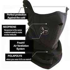 Ski Snowboard Motorcycle <b>Bicycle</b> Winter Sport Face <b>Mask Neck</b> ...