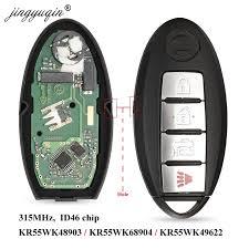 <b>jingyuqin Smart Remote</b> Key for NISSAN Altima Teana Maxima ...
