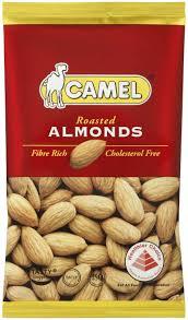 Купить <b>миндаль натуральный</b> печеный roasted almond <b>Camel</b> 40 ...